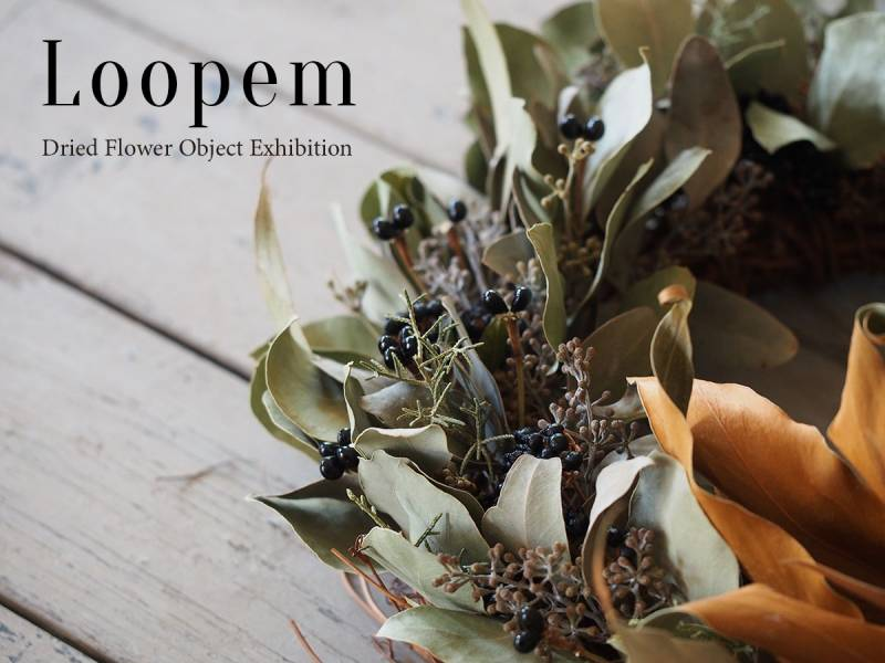 Loopem -Dried Flower Object Exhibition-