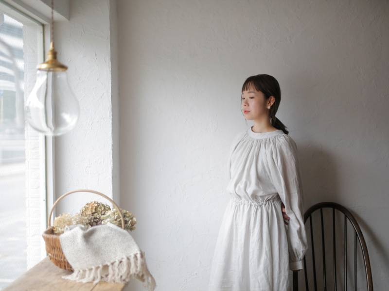 Petrichor × monbus × foglinenwork Church gown dress